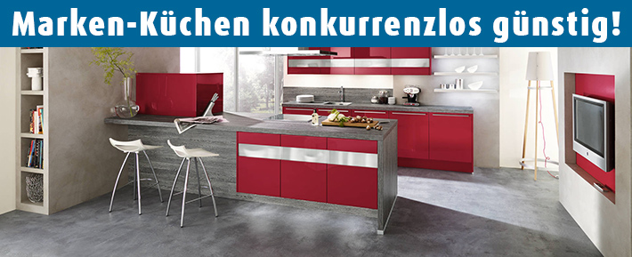 Küchen | Komplette Küche online planen und bestellen & Küchenzubehör