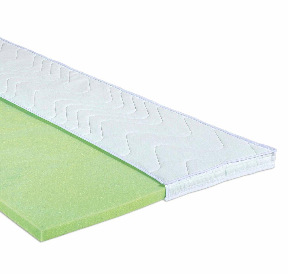topper kaltschaum 100x200 cm topper matratzen lattenroste schlafzimmer wohnbereiche. Black Bedroom Furniture Sets. Home Design Ideas