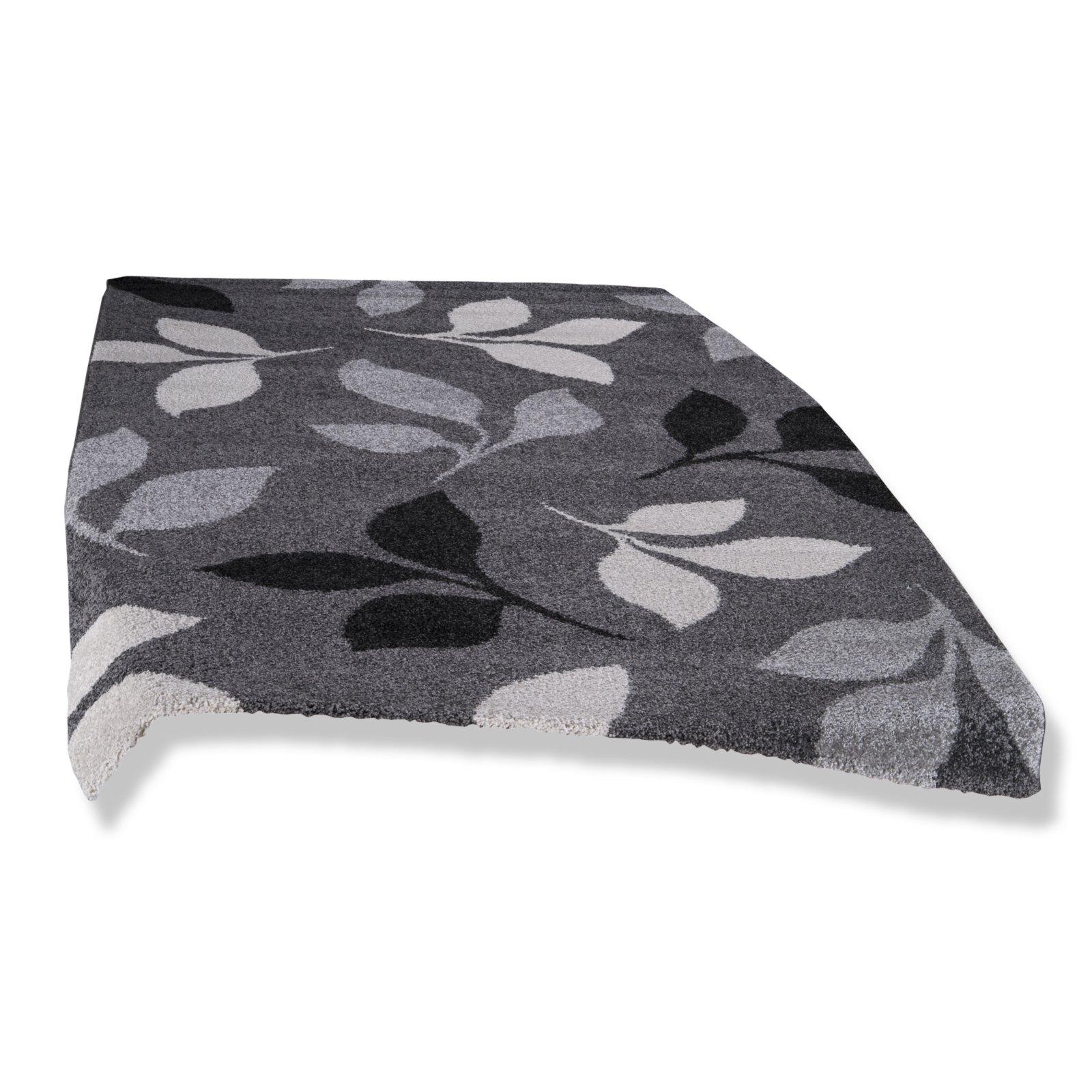 frisee teppich casa grau 200x290 cm gemusterte. Black Bedroom Furniture Sets. Home Design Ideas