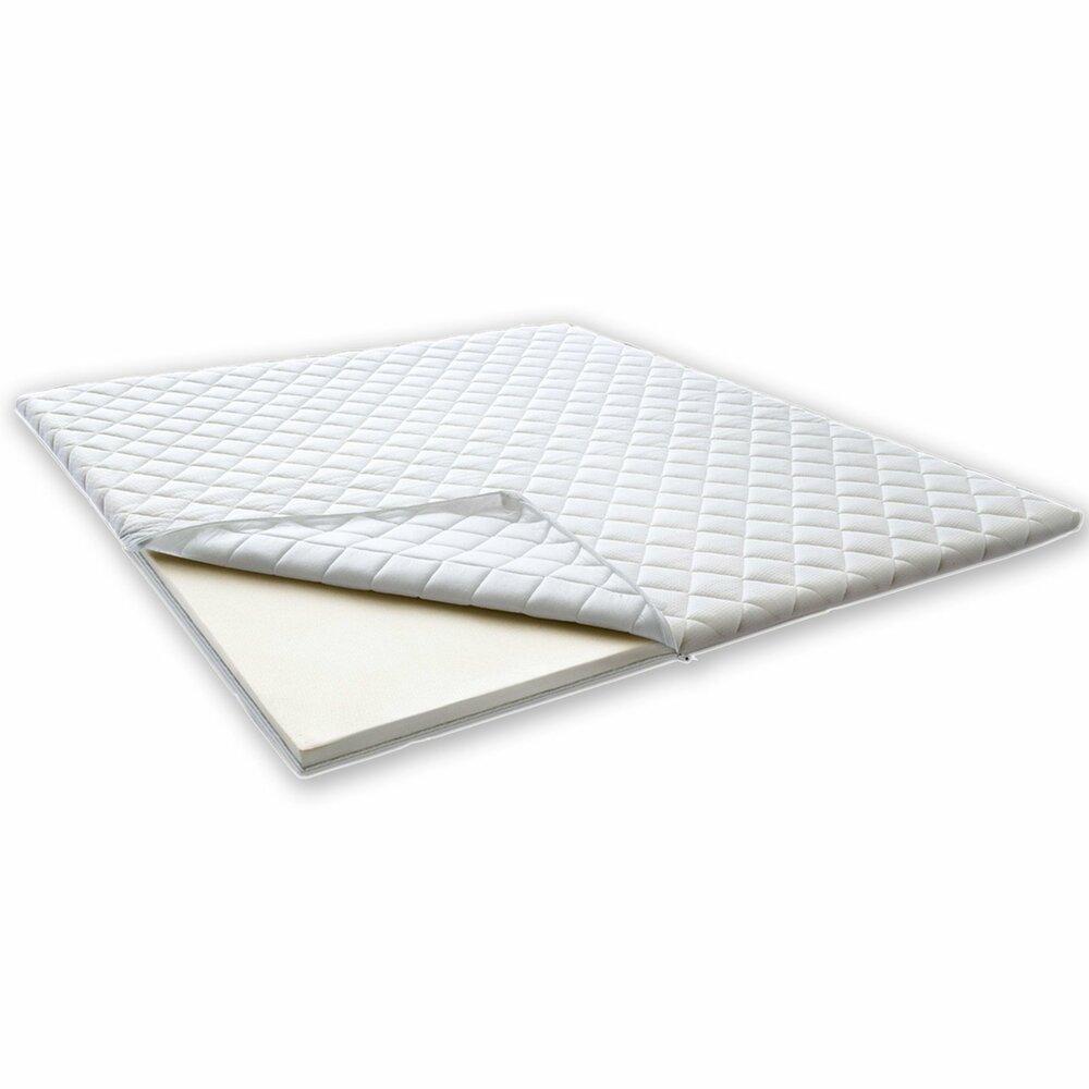 topper kaltschaum wei 180x200 cm topper matratzen lattenroste m bel m belhaus roller. Black Bedroom Furniture Sets. Home Design Ideas
