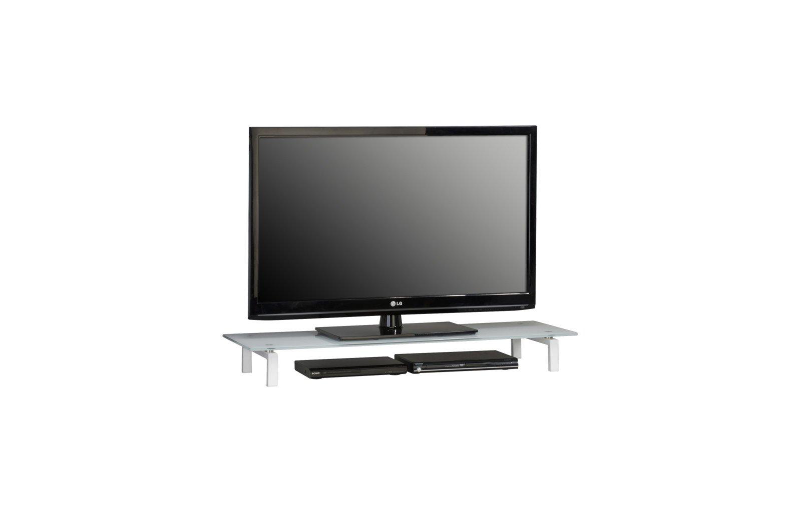 Astounding Tv Bank Metall Referenz Von Cheap Latest Cool Tvboard Wei Mit Glasplatte