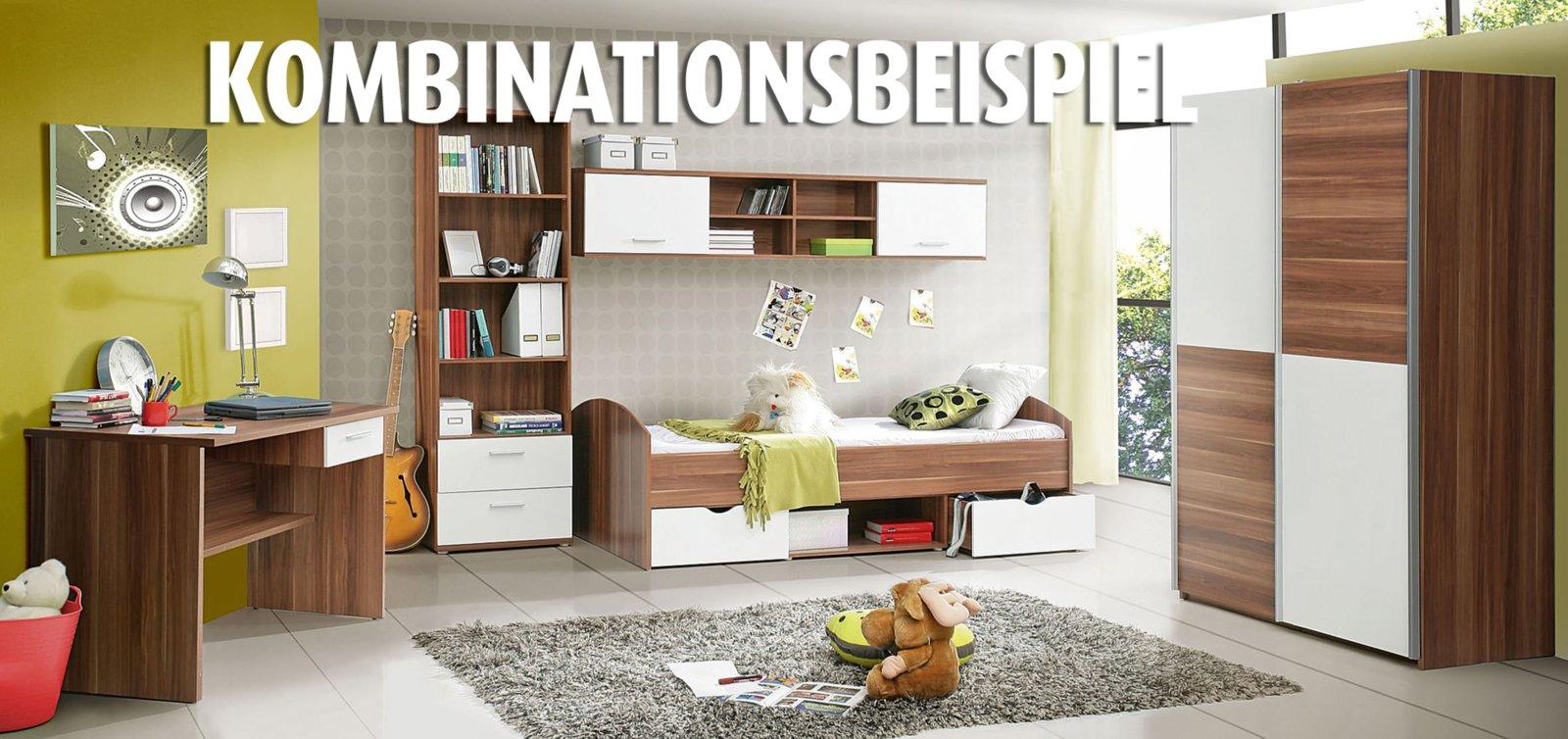 roller schwebet renschrank lupo walnuss wei ebay. Black Bedroom Furniture Sets. Home Design Ideas
