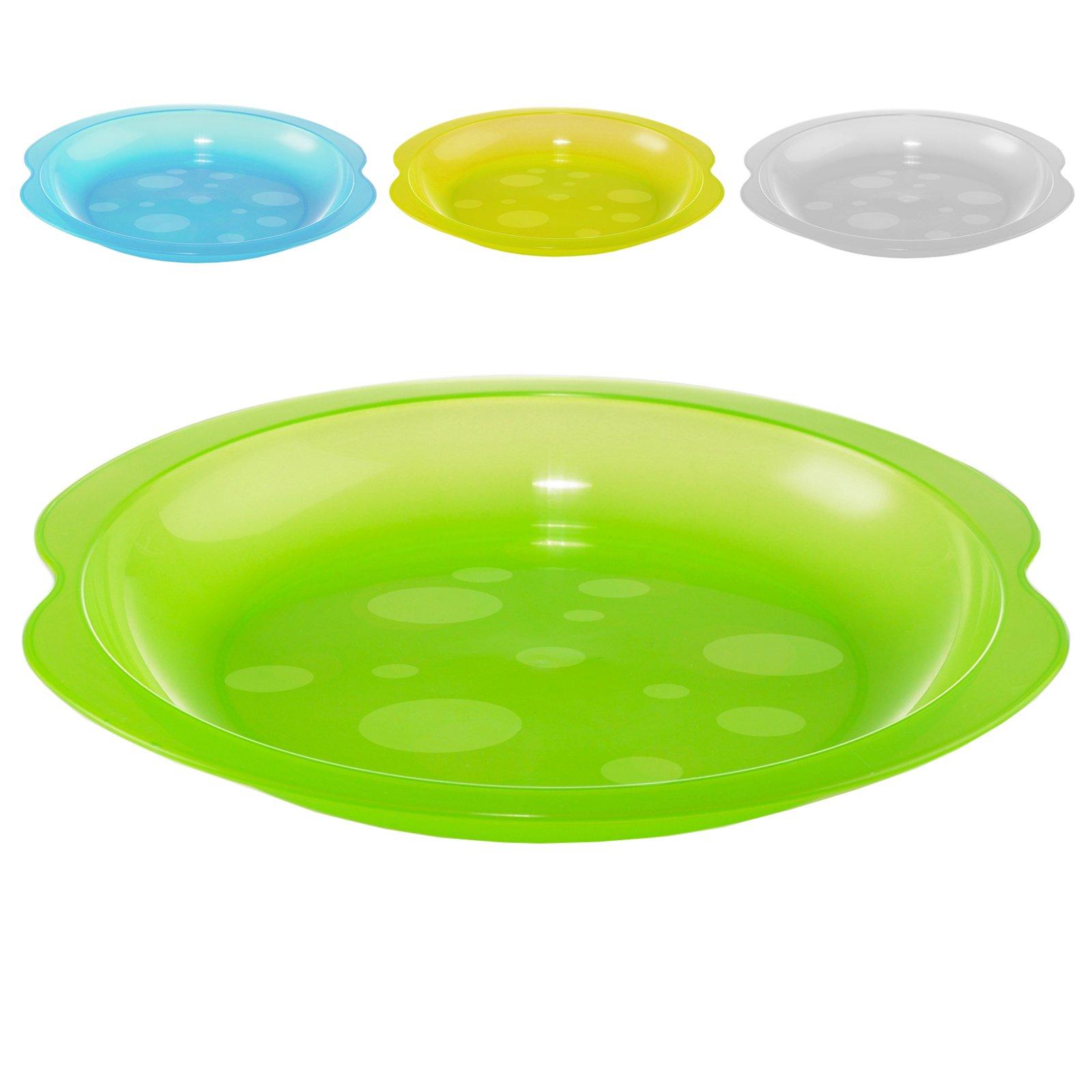 plastikteller tief 6 teilig sortiert farbe nicht w hlbar grills grillzubeh r. Black Bedroom Furniture Sets. Home Design Ideas