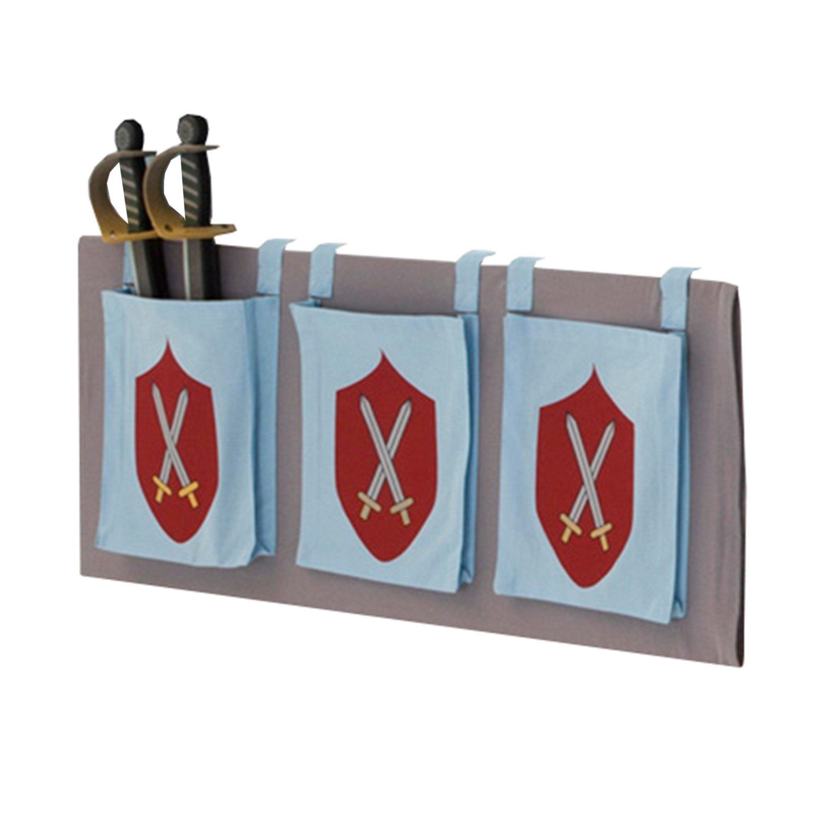 3er set aufbewahrungstaschen kids ritter motiv. Black Bedroom Furniture Sets. Home Design Ideas
