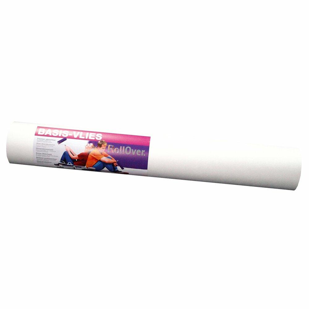 Basis vliestapete wei 25 meter vliestapeten for Tapeten roller