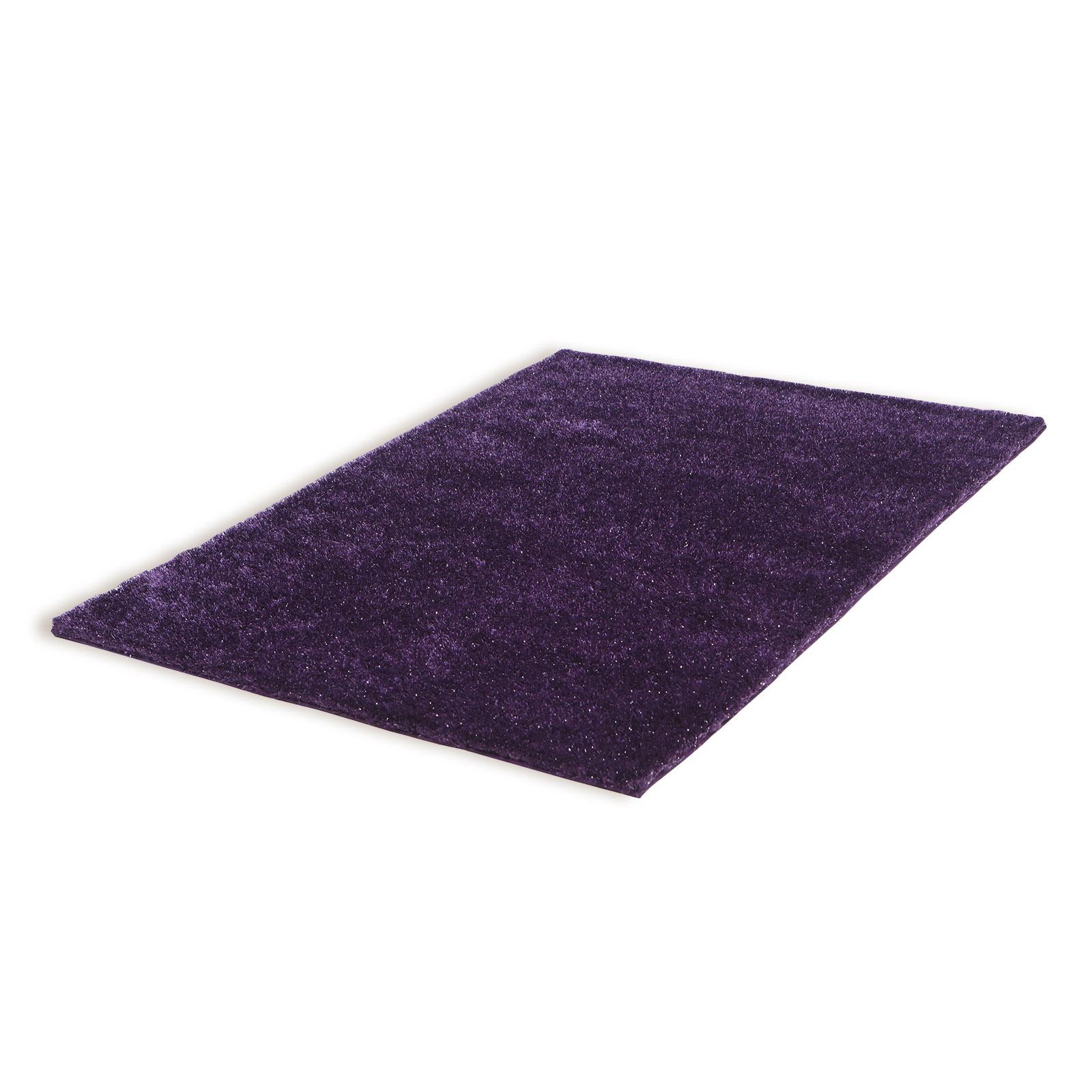Homara Hochflor Teppich Lila 120x170 Cm Online Bei Roller Kaufen