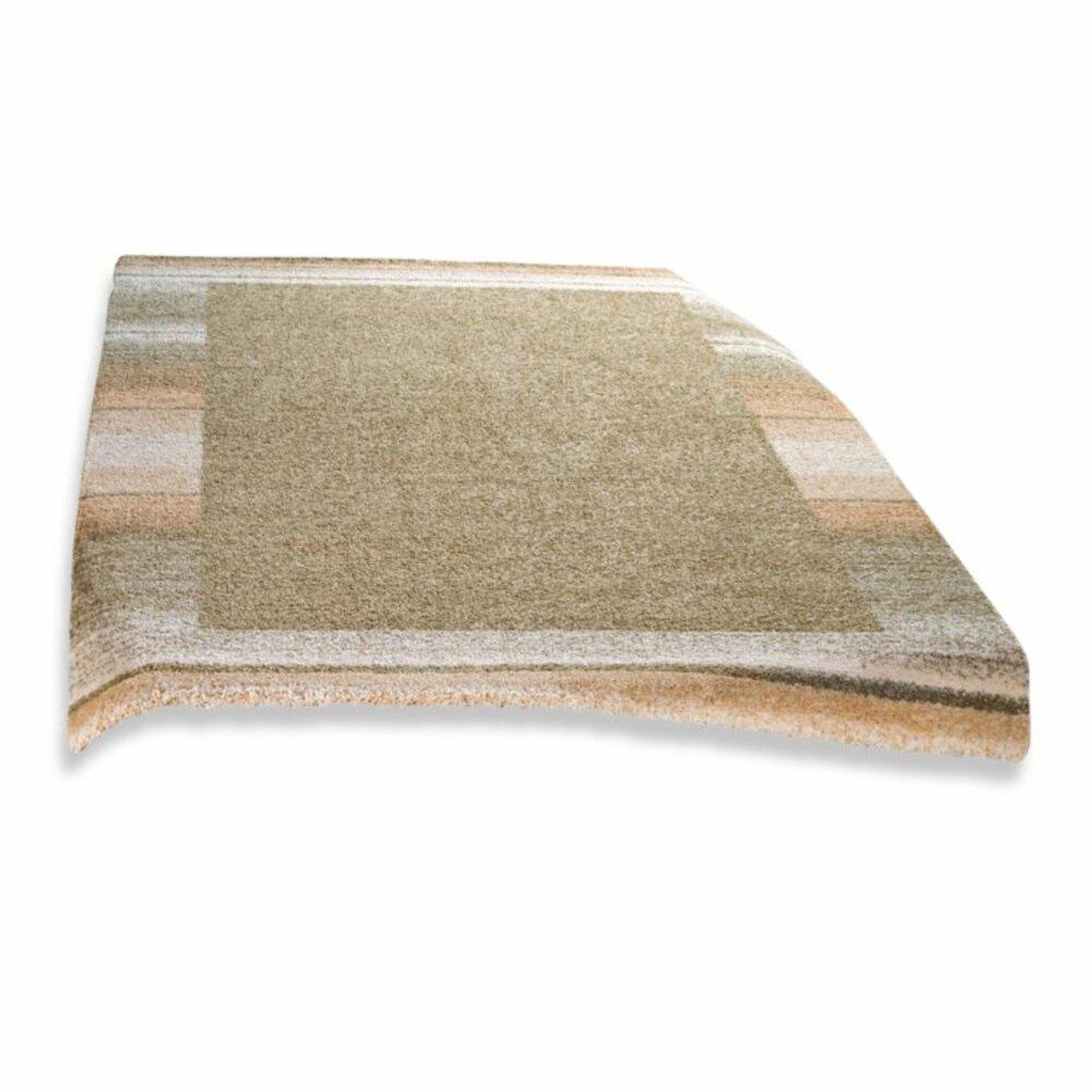teppich wien gr n rund 200cm gemusterte teppiche teppiche l ufer deko haushalt. Black Bedroom Furniture Sets. Home Design Ideas
