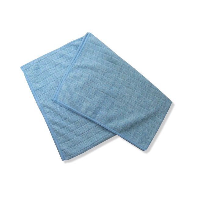 Bodentuch - blau - Microfaser - 40x50 cm