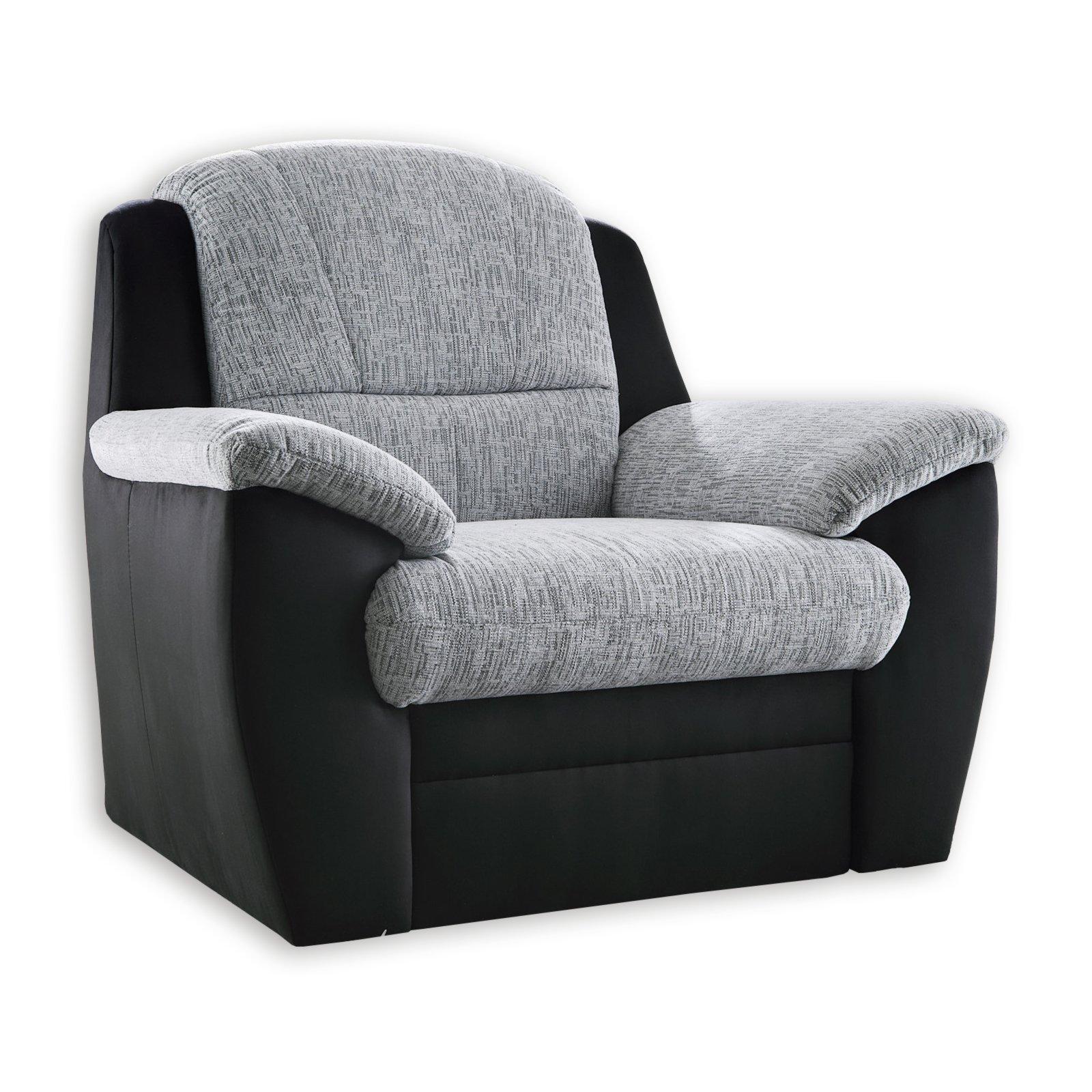 sessel anthrazit schwarz fernseh relaxsessel sessel hocker m bel m belhaus roller. Black Bedroom Furniture Sets. Home Design Ideas