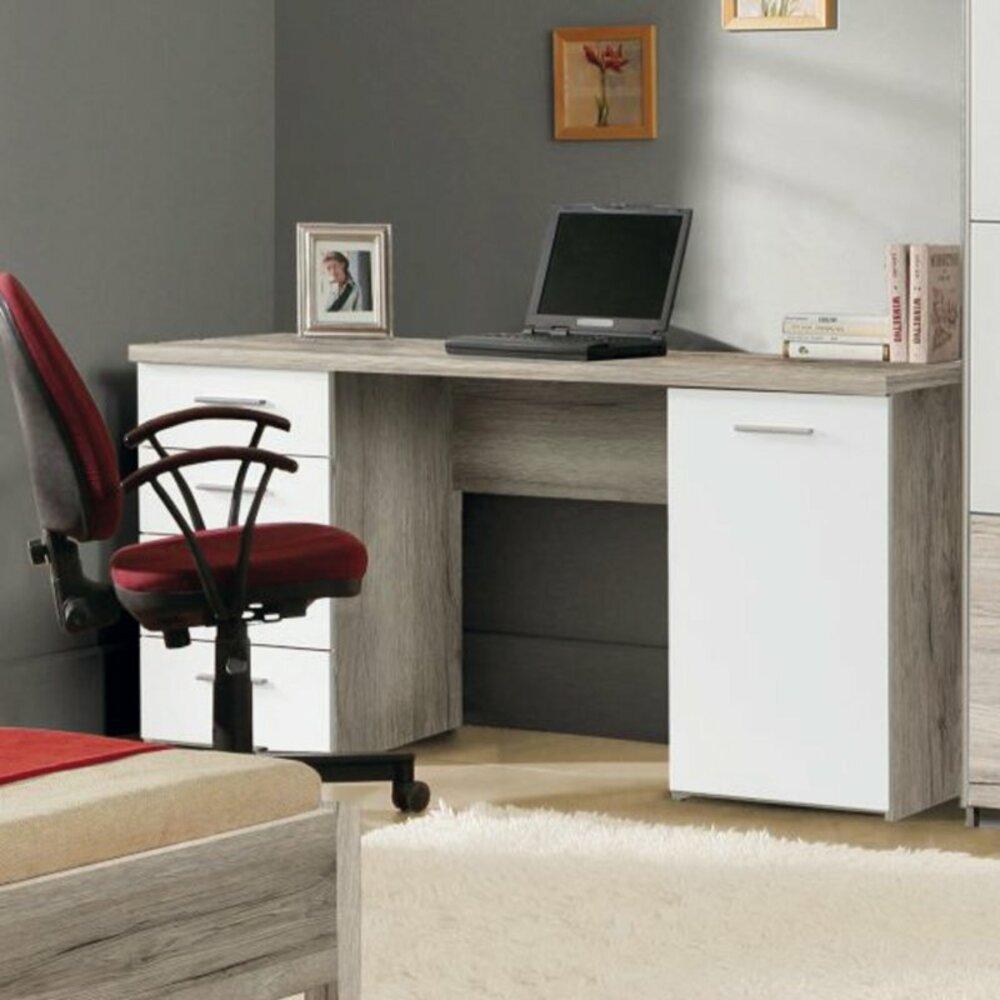 Schreibtisch beach sandeiche wei 145 cm - Roller jugendzimmer ...