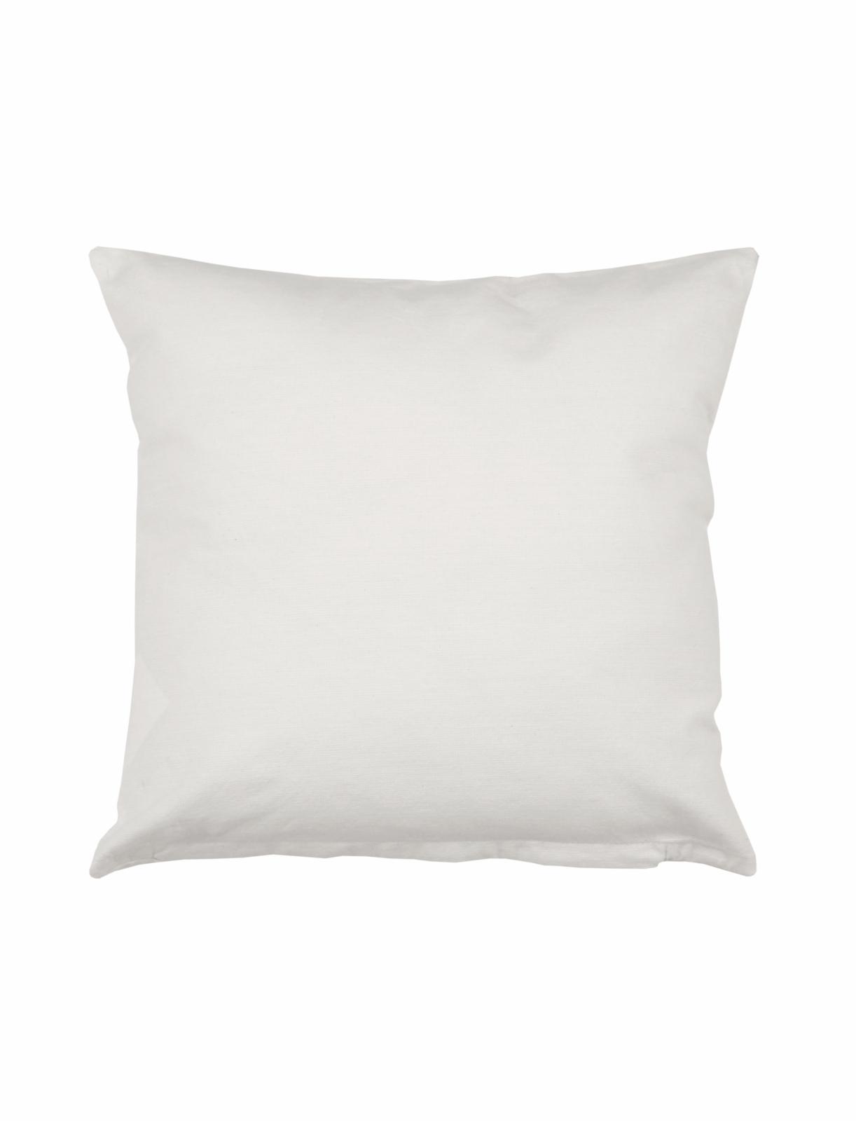 3er Pack Kissenbezüge Mit Reißverschluss Weiß 40x40 Cm