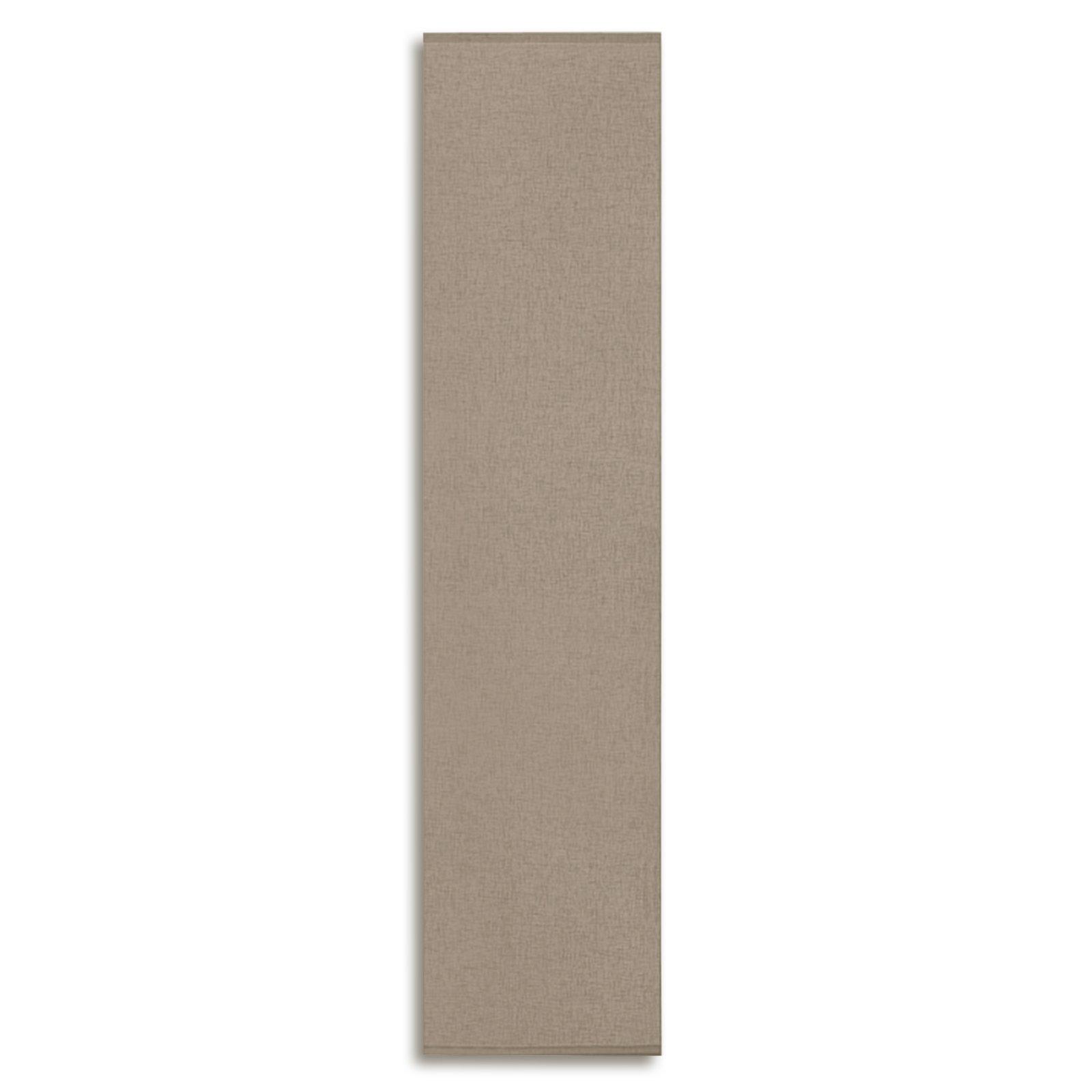schiebevorhang taupe 60x245 cm schiebevorh nge. Black Bedroom Furniture Sets. Home Design Ideas