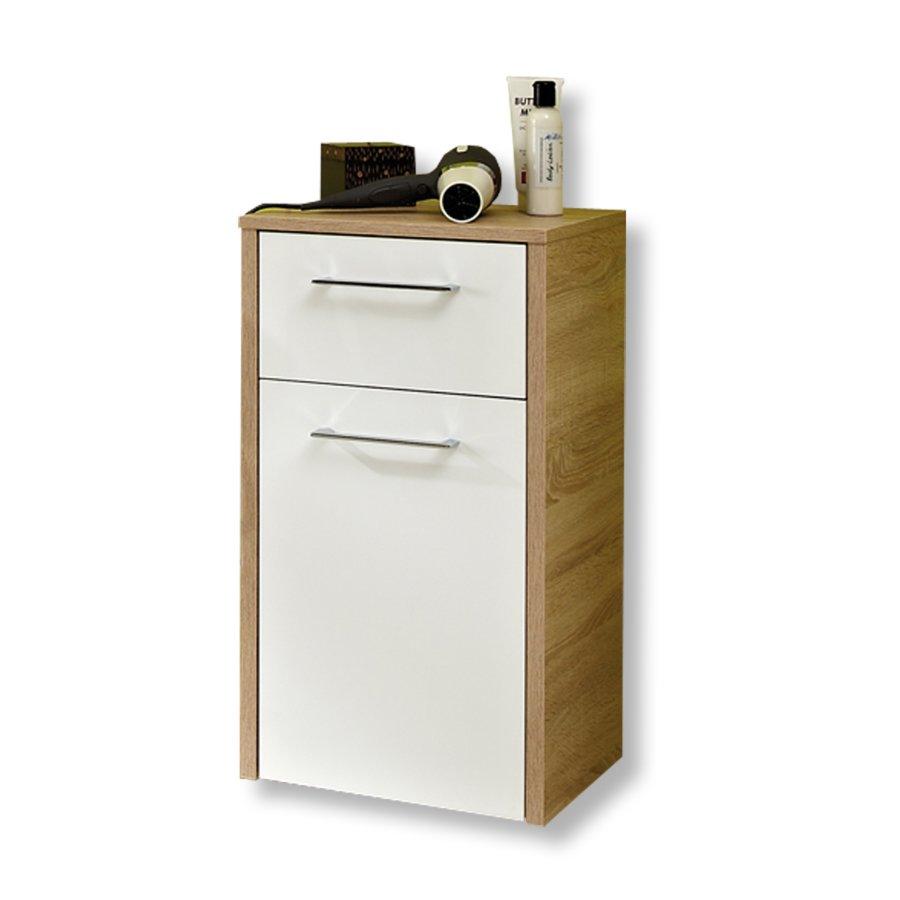 unterschrank lagos badezimmer hoch midischr nke badm bel badezimmer wohnbereiche. Black Bedroom Furniture Sets. Home Design Ideas
