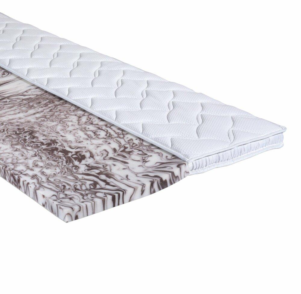 topper gel schaumkern 100x200 cm topper matratzen lattenroste schlafzimmer. Black Bedroom Furniture Sets. Home Design Ideas