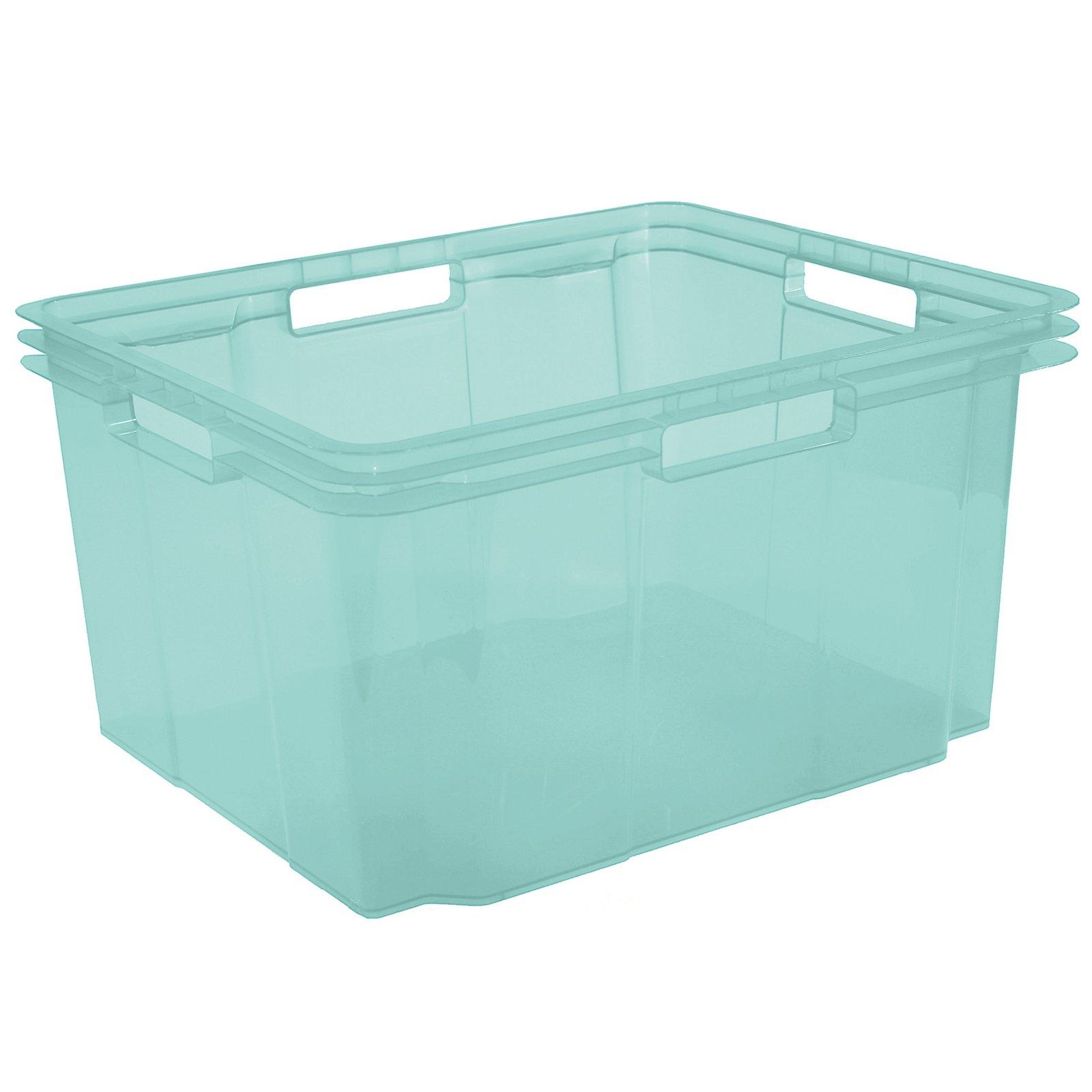 Stapelbox - türkis pastell - 26 Liter