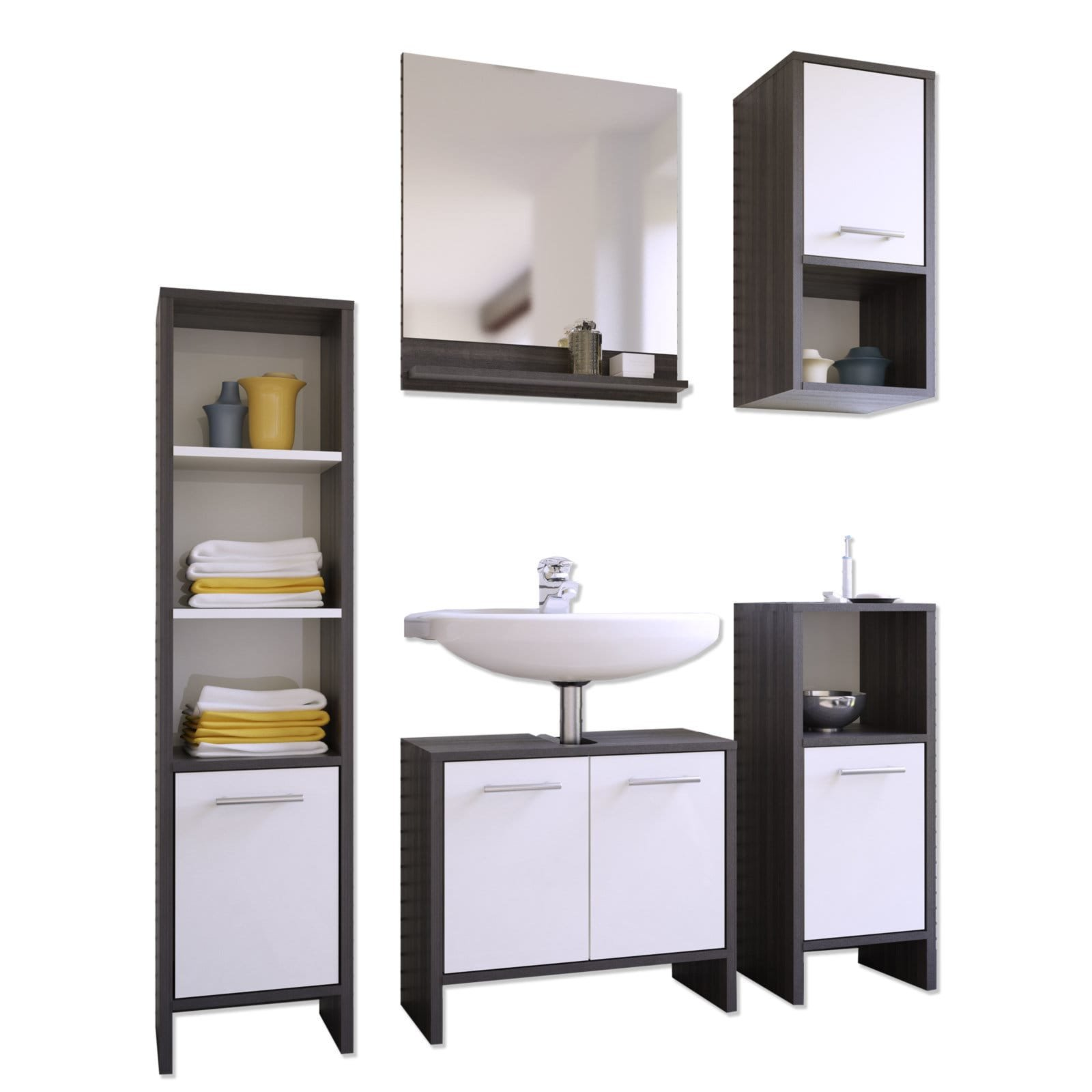 badm bel set g nstig kaufen. Black Bedroom Furniture Sets. Home Design Ideas