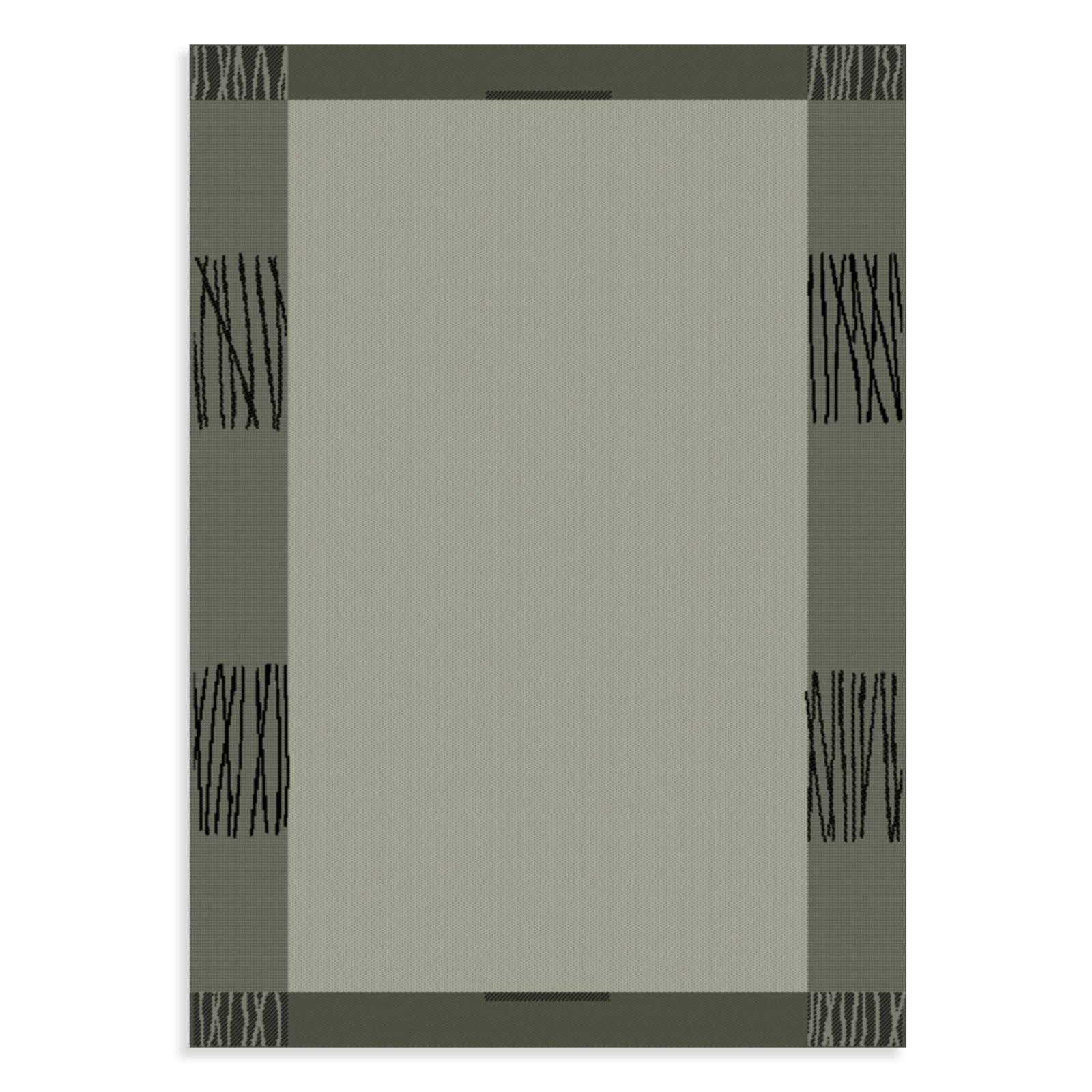 Teppich OSLO  grau  60×110 cm  Gemusterte Teppiche