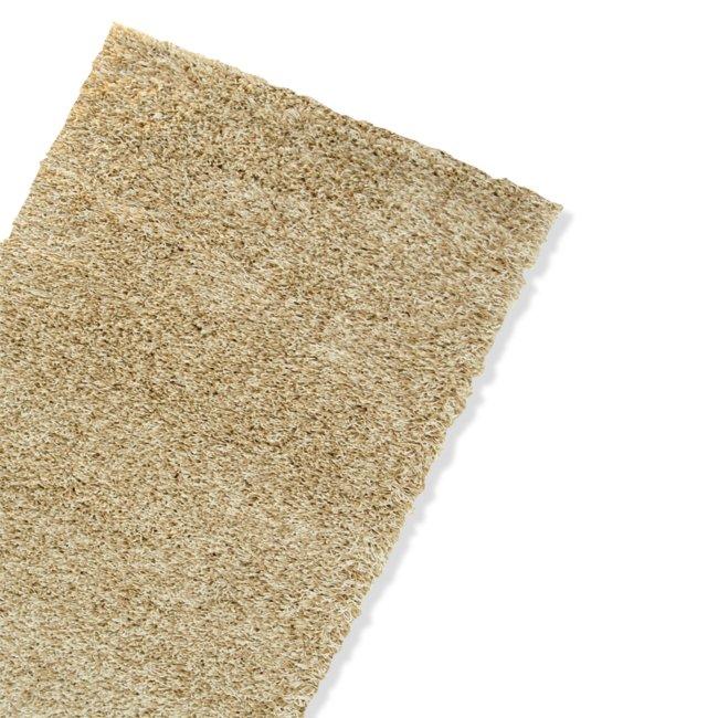 teppich shaggy beige 160x230 cm hochflor shaggyteppiche teppiche l ufer deko. Black Bedroom Furniture Sets. Home Design Ideas