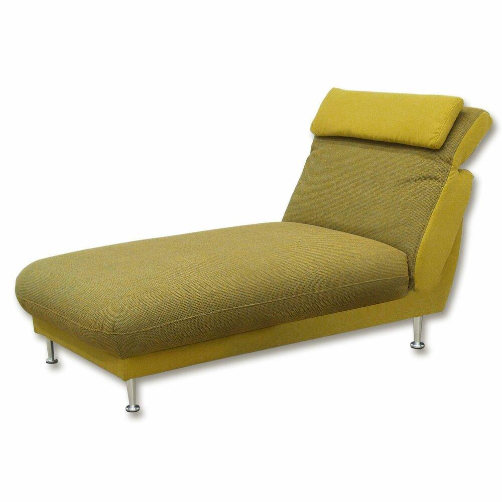longchair gr n gelb federkern fernseh relaxsessel. Black Bedroom Furniture Sets. Home Design Ideas