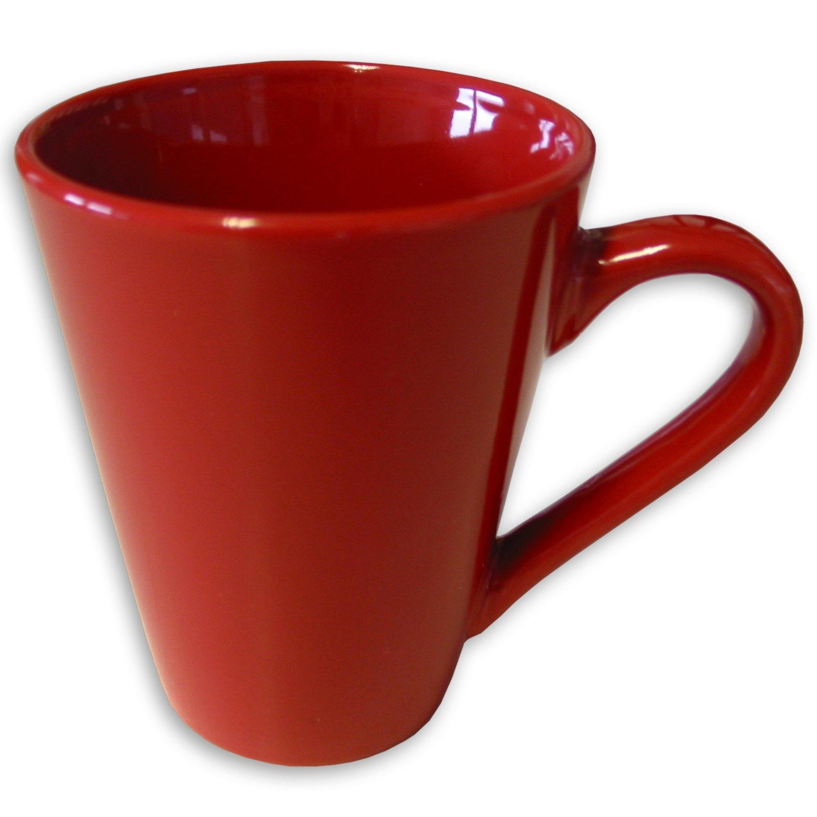 Tasse - rot - Keramik - 280 ml