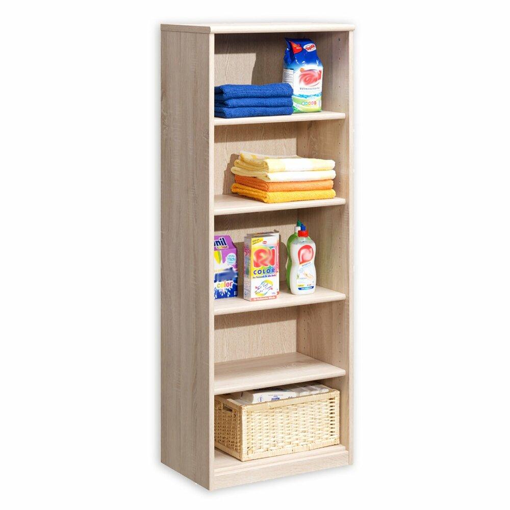 regal soft 051 64 eiche 55 cm breit wohnprogramm soft wohnprogramme wohnzimmer. Black Bedroom Furniture Sets. Home Design Ideas