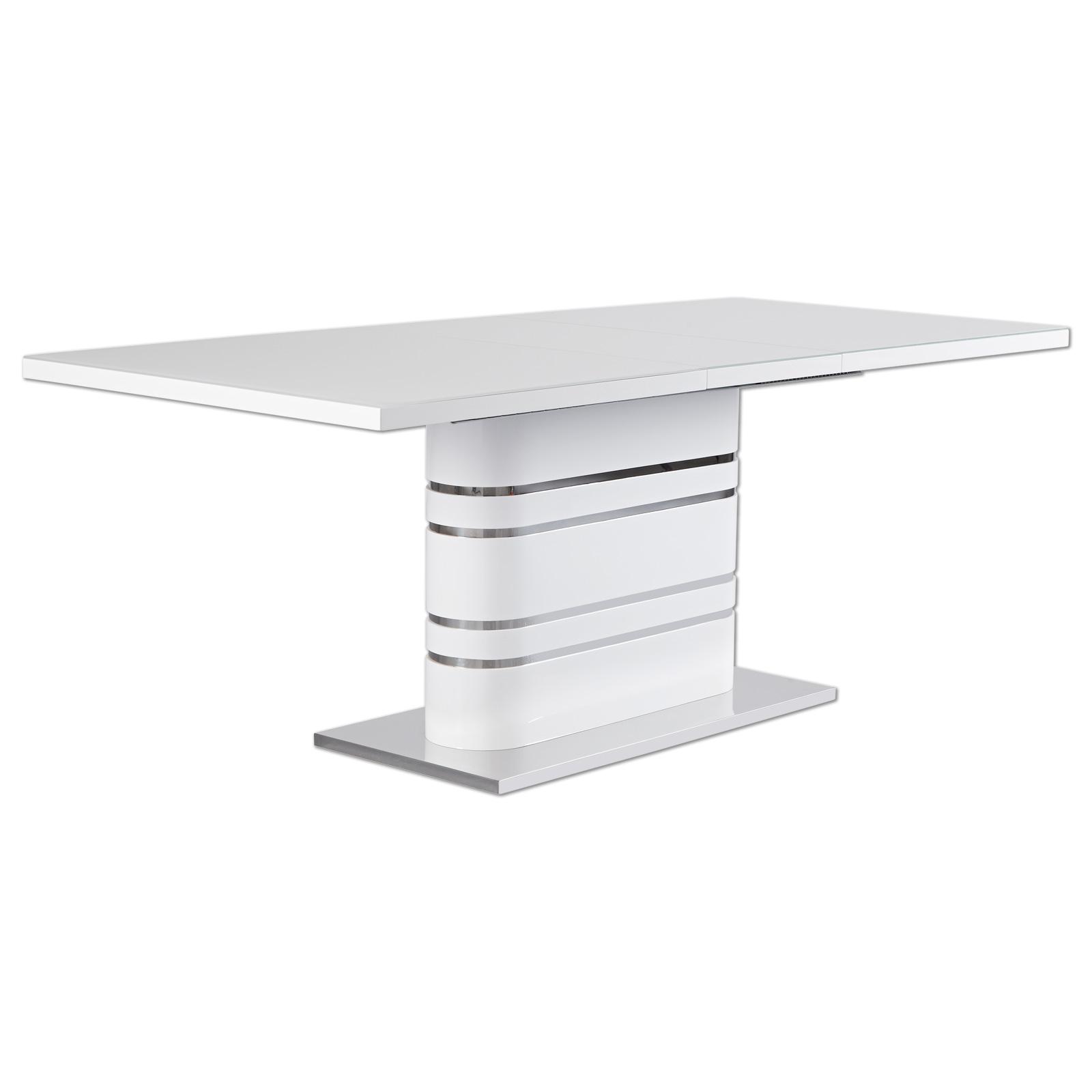 Ausziehbarer Esstisch in weiß online kaufen | OTTO