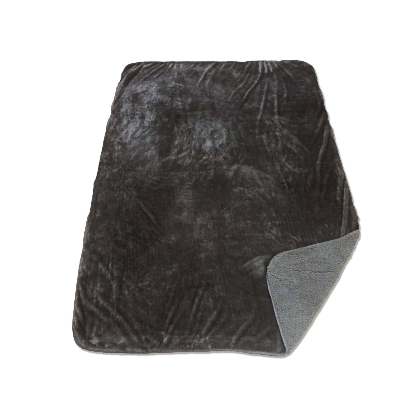 kuscheldecke bristol taupe lammfelloptik 140x200 cm wohndecken fleecedecken. Black Bedroom Furniture Sets. Home Design Ideas
