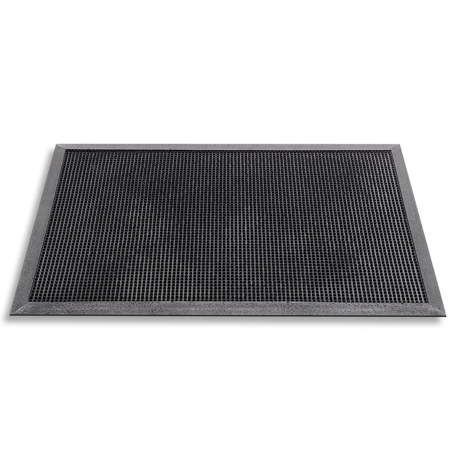 Fußmatte FINGERTIP - schwarz - 40x60 cm
