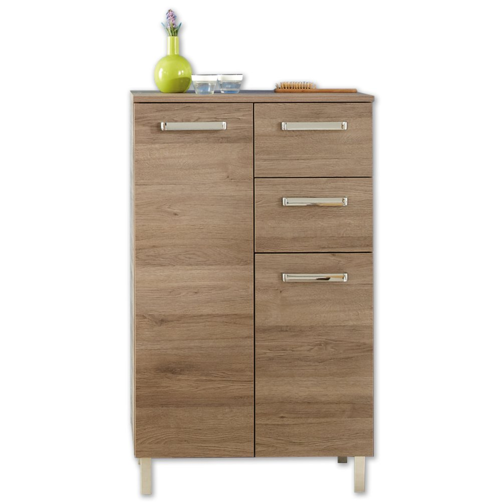 highboard offenbach san remo eiche terra badezimmer. Black Bedroom Furniture Sets. Home Design Ideas