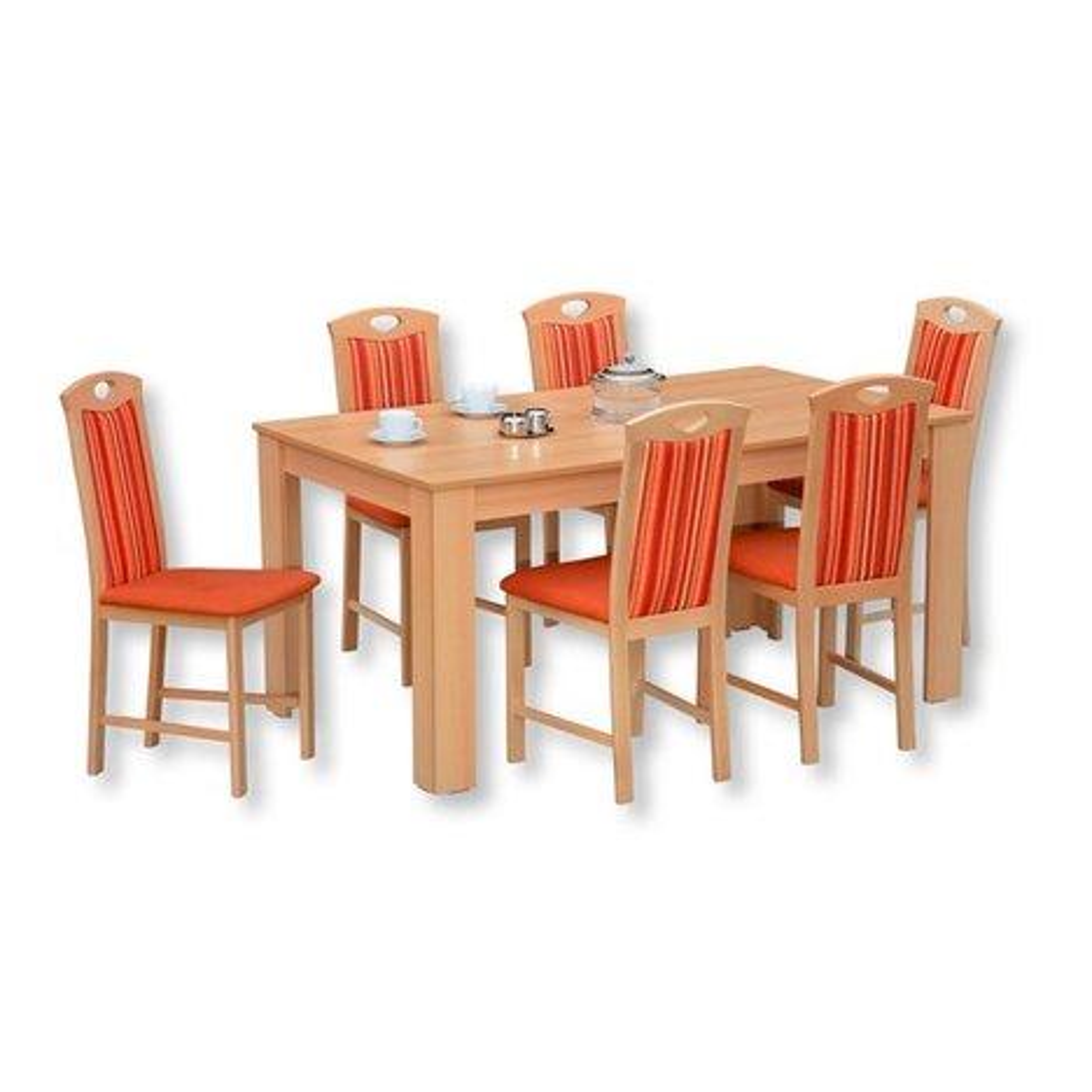 esszimmer tisch henriette buche ausziehbar 160x90 cm esstische sitzen essen. Black Bedroom Furniture Sets. Home Design Ideas