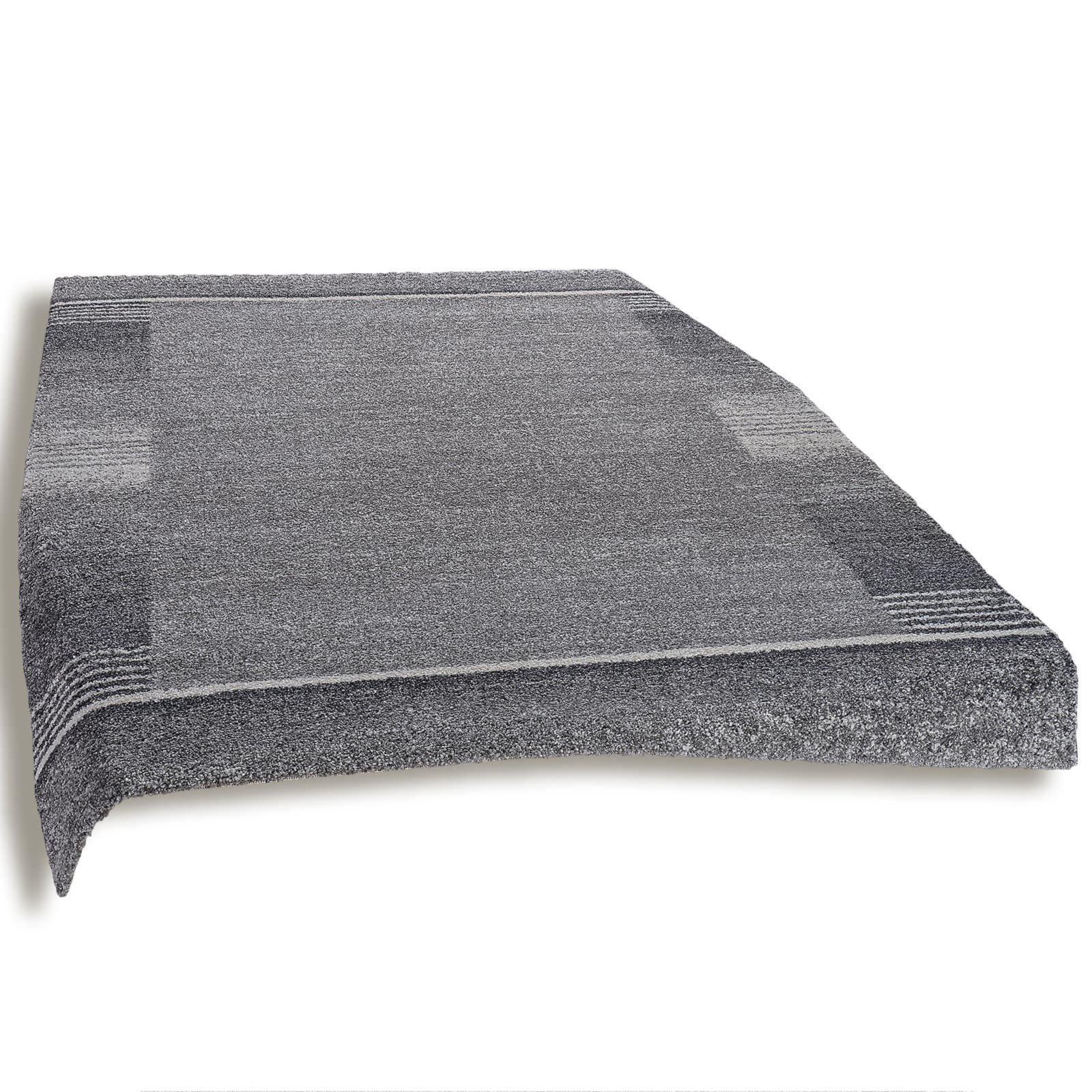 teppich wien dunkelgrau 160x230 cm gemusterte. Black Bedroom Furniture Sets. Home Design Ideas