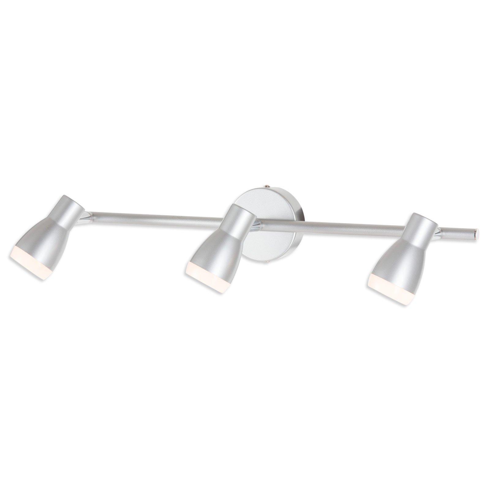 LED-Spotbalken MEDINA - silber - 3-flammig