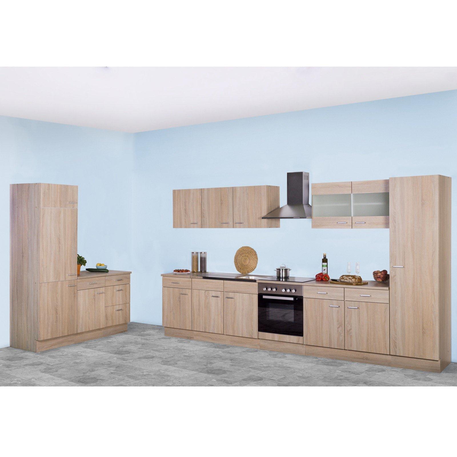 topfschrank sinja sonoma eiche 50 cm ebay. Black Bedroom Furniture Sets. Home Design Ideas