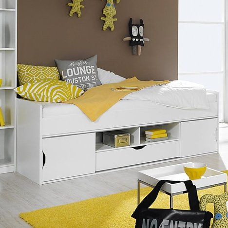 funktionsbett mateo alpinwei 90x200 cm jugendzimmer mateo kinder jugendzimmer. Black Bedroom Furniture Sets. Home Design Ideas