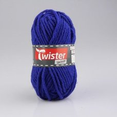 Wolle TWISTER SKATER - royalblau - 50g