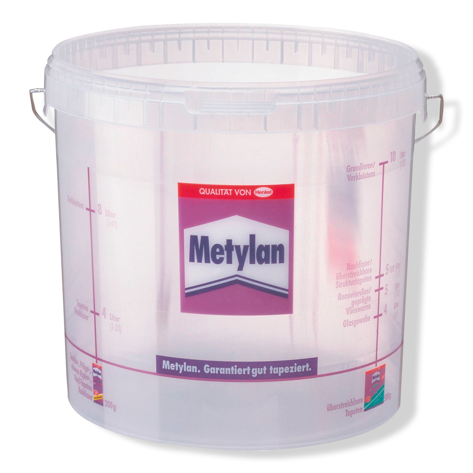 Metylan Tapeziereimer  10 Liter  Tapezierzubehör  ~ Spülbecken Liter