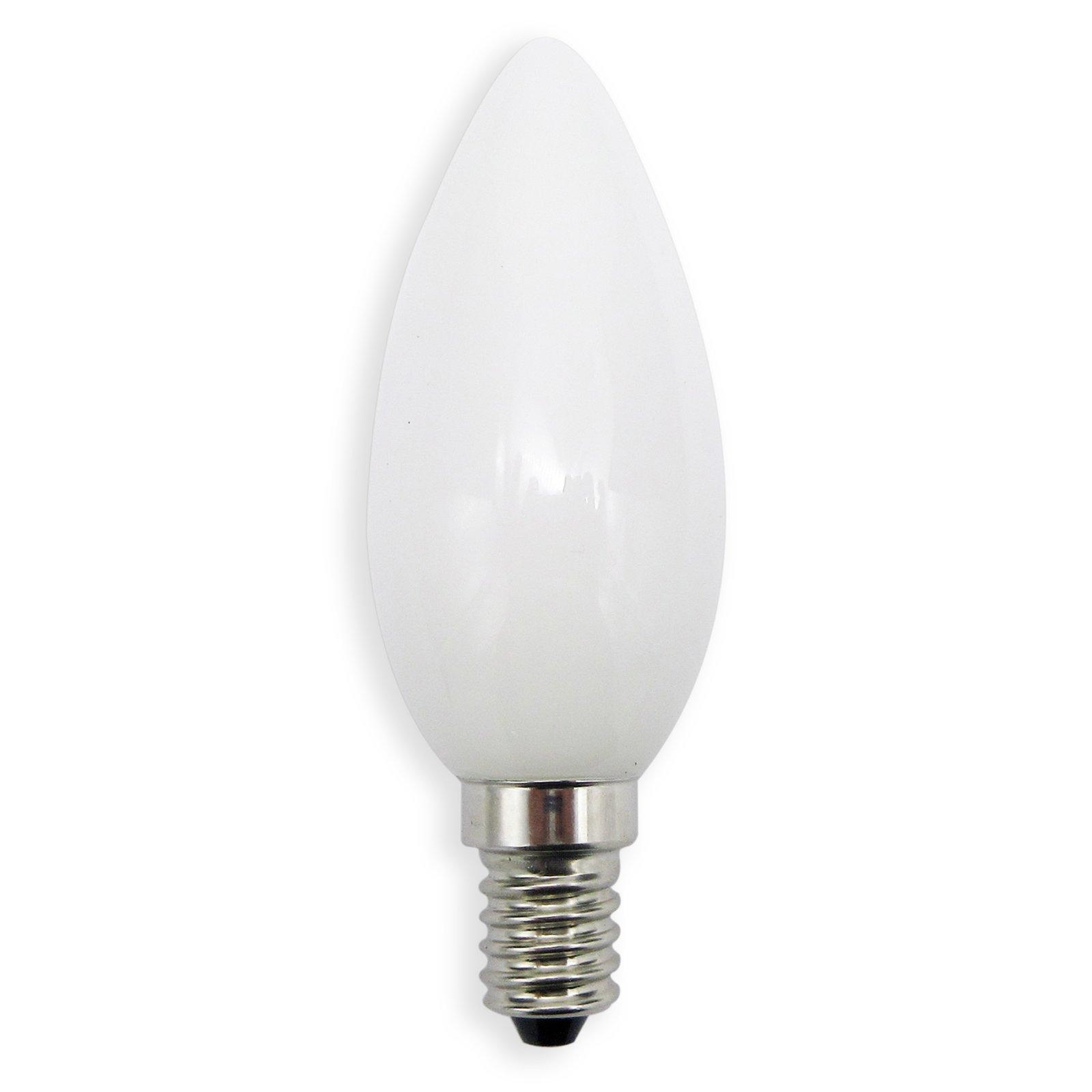 led kerzenlampe nostalgia lightime e14 3 5 w warmwei led leuchtmittel leuchtmittel. Black Bedroom Furniture Sets. Home Design Ideas