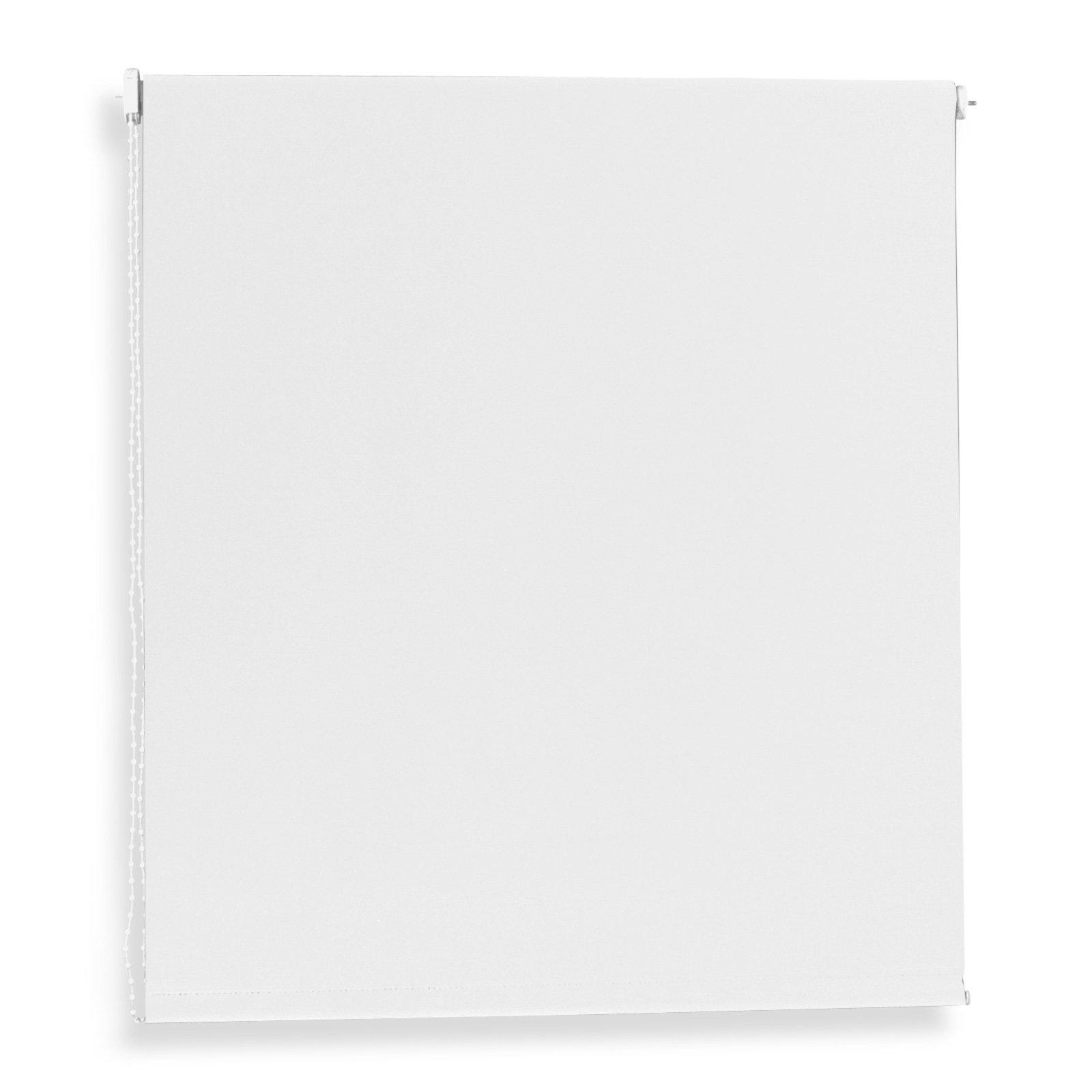 Rollo - weiß - 180x180 cm