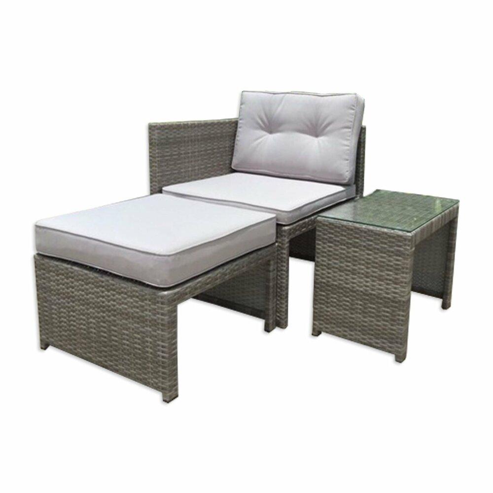 gardiola lounge set grau rattanoptik garten loungem bel gartenm bel garten roller. Black Bedroom Furniture Sets. Home Design Ideas