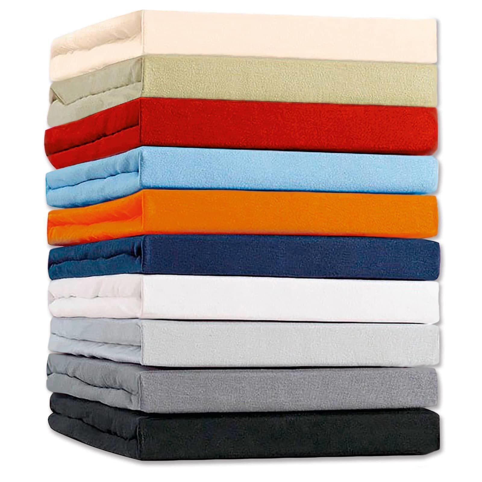 spannbettlaken farbe nicht w hlbar 140x200 cm bettlaken bettw sche bettlaken. Black Bedroom Furniture Sets. Home Design Ideas