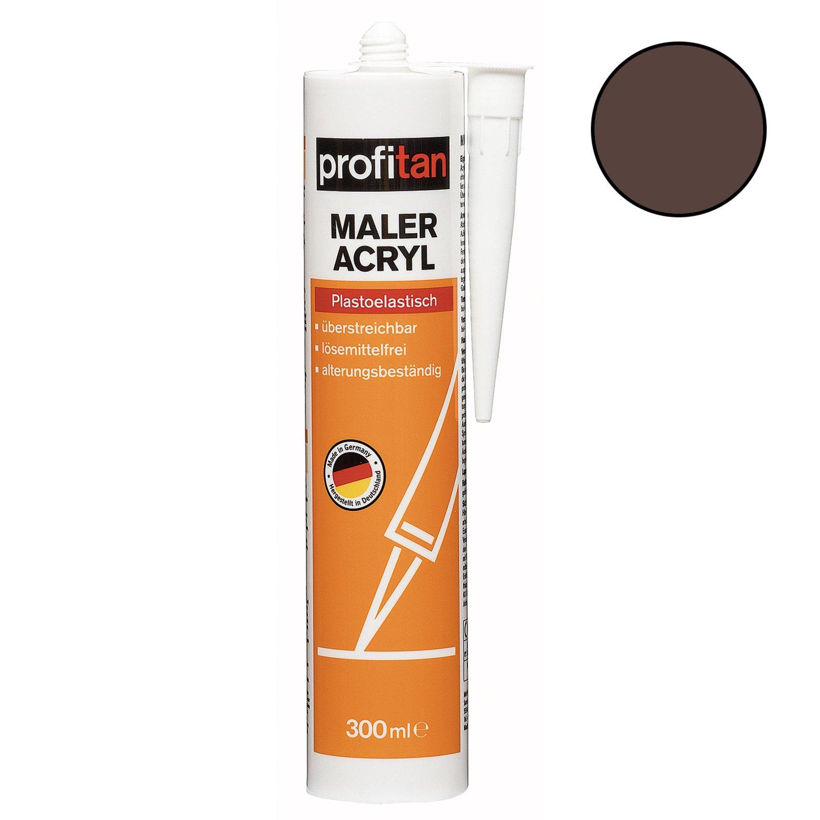 profitan Maler-Acryl - braun - 300 ml