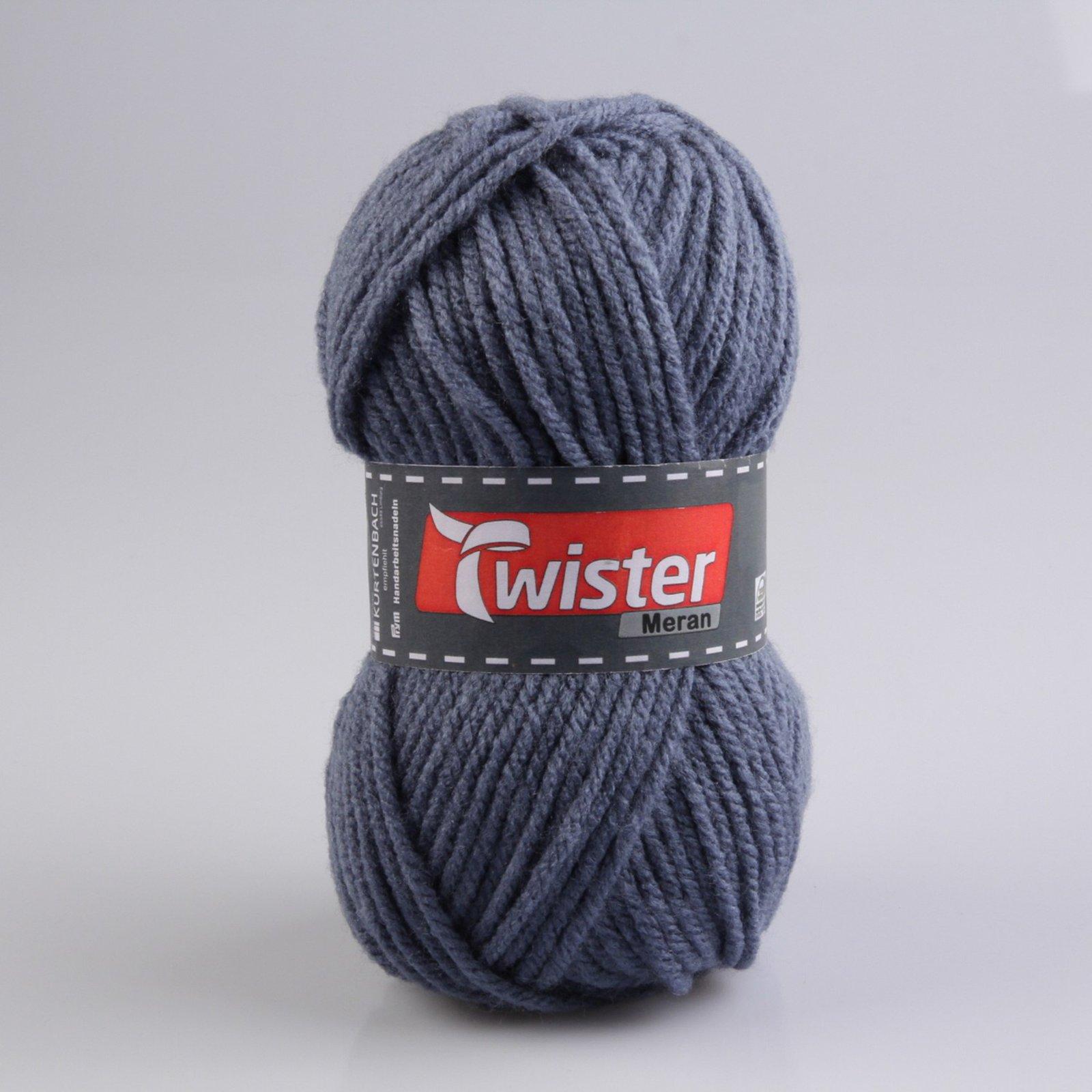 Wolle MERAN - jeansblau - 100g