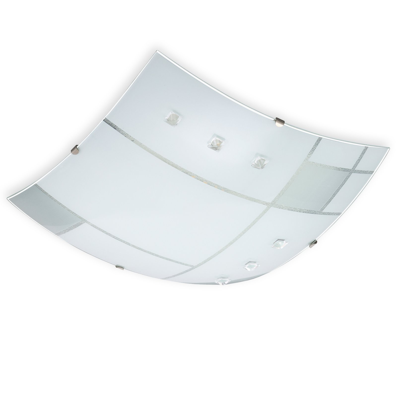 led deckenleuchte carre wei 30x30 cm led leuchten lampen m bel m belhaus roller. Black Bedroom Furniture Sets. Home Design Ideas