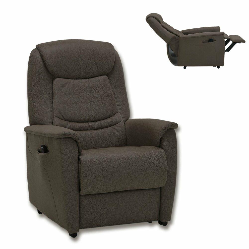 tv sessel braun mit motor fernseh relaxsessel sessel hocker m bel roller m belhaus. Black Bedroom Furniture Sets. Home Design Ideas