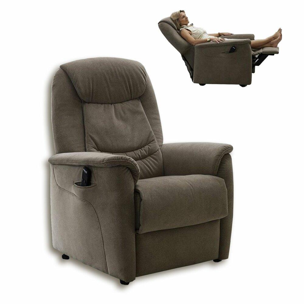 fernsehsessel beige motor und aufstehhilfe fernseh relaxsessel sessel hocker. Black Bedroom Furniture Sets. Home Design Ideas