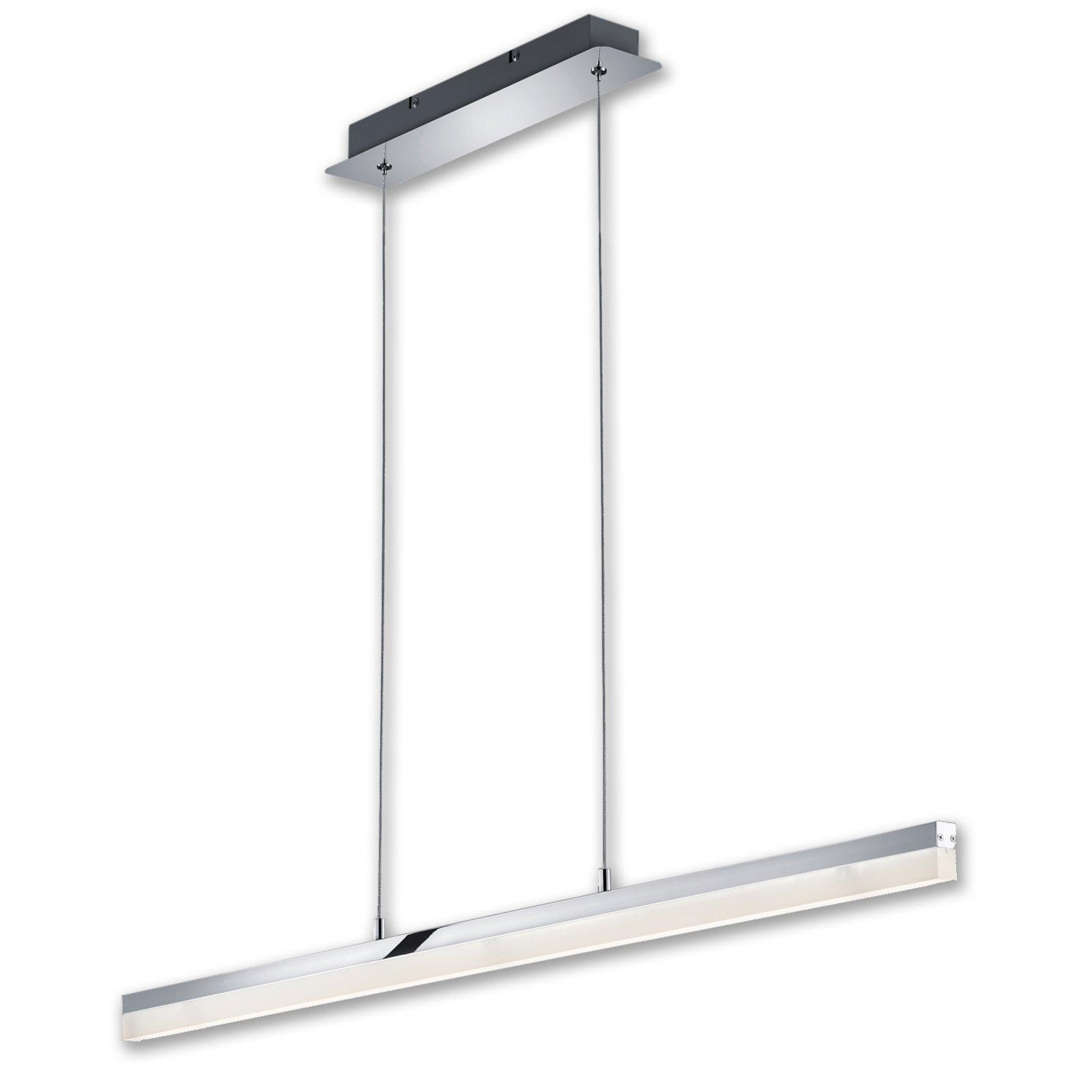 led pendelleuchte chrom metall pendelleuchten h ngelampen lampen m belhaus roller. Black Bedroom Furniture Sets. Home Design Ideas