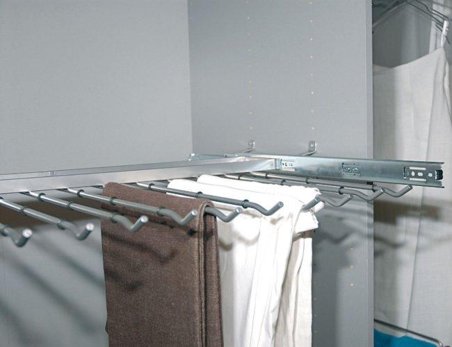 hosenhalter auszug f r elementbreite 90 cm zubeh r kleiderschr nke schr nke m bel. Black Bedroom Furniture Sets. Home Design Ideas