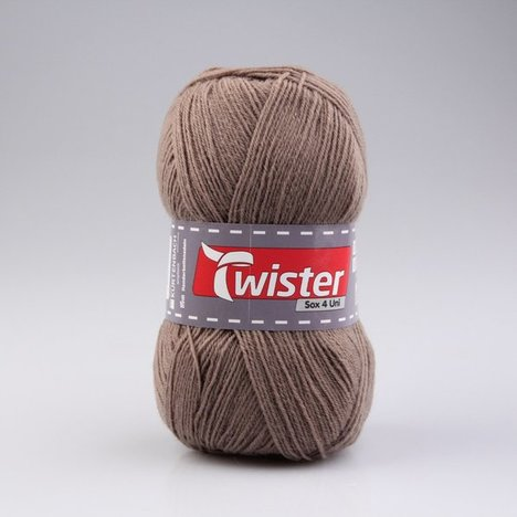 Wolle TWISTER SOX UNI - beige - 100g