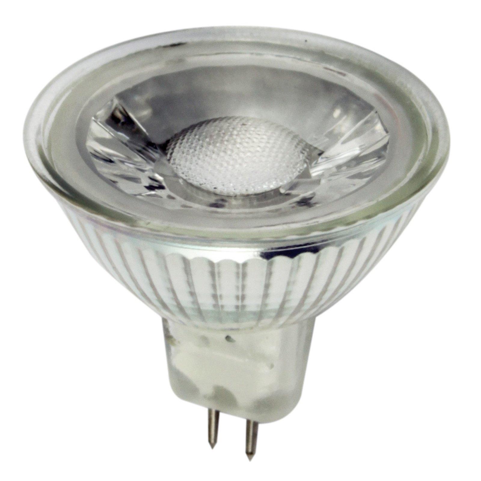 led reflektor leuchtmittel lightme mr16 gu5 5 watt warmwei led leuchtmittel. Black Bedroom Furniture Sets. Home Design Ideas