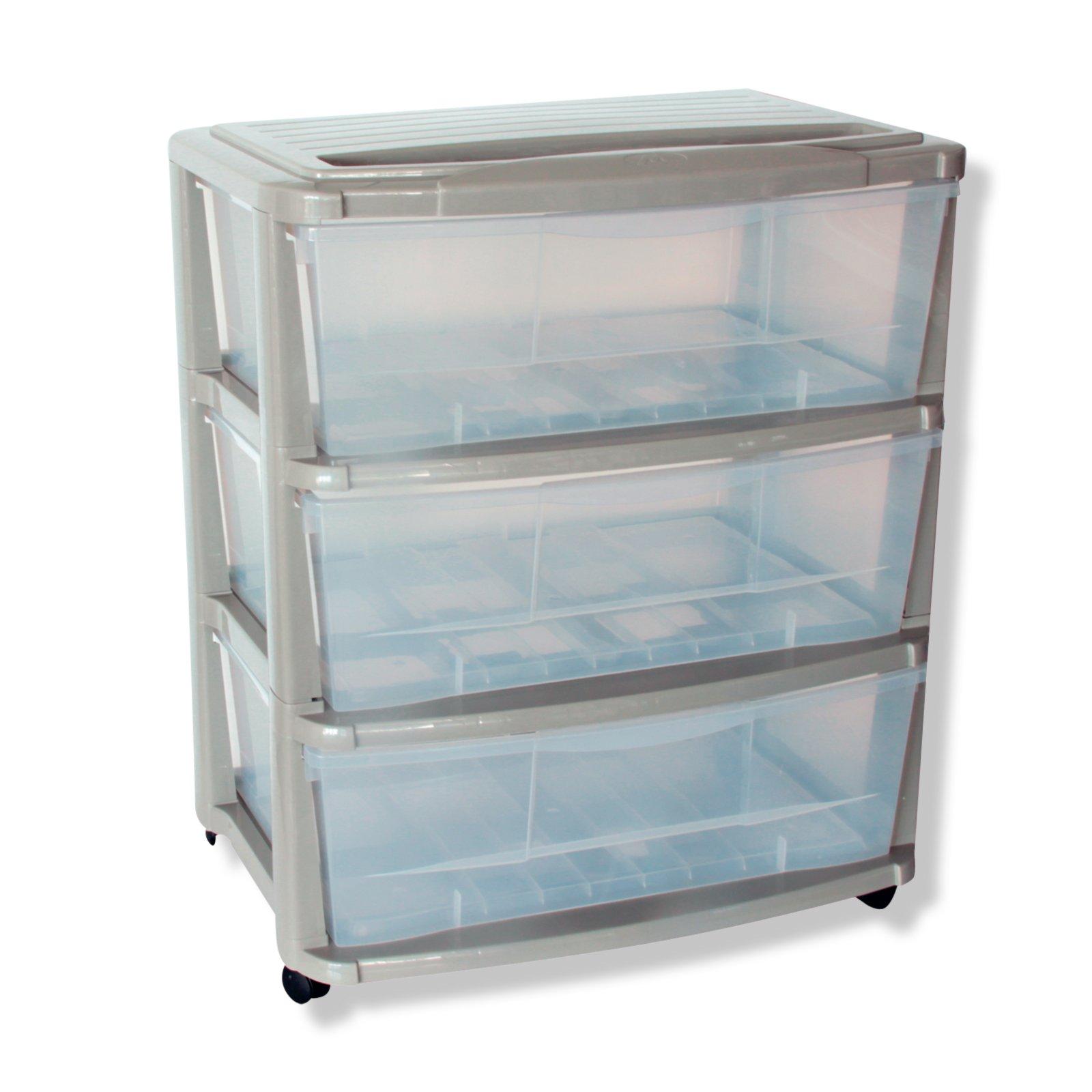 aufbewahrungsboxen turm grau breite 55 5 cm rollcontainer m bel m belhaus roller. Black Bedroom Furniture Sets. Home Design Ideas